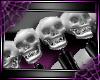 [D]SpikeSkullBand 2*B/W
