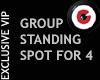 Group Standing Spot