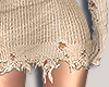 I│Knit Skirt RLL Beige