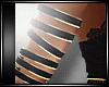 BLACK GOLD ARM BANDS
