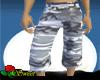 Gray Camo Long Shorts