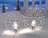 Silver Light Bulb Balls