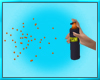 Women Spray Can