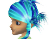 Sachiko multi aqua blue