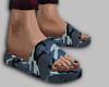 blue camo slides