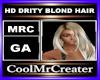 HD DRITY BLOND HAIR
