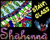 wild color stain glass