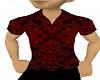 [V1a] Red Black Shirt
