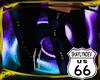 SD 7in Heel Black Blue