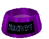 Maleficent pet bowl