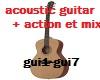 acoustic guitar ,mix