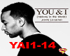 JOHN LEGEND-YOU & I
