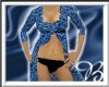 *00*Exotic Leopard Blue