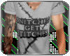 [TK] Stitches Grey Tee