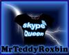 (F) Skype Queen Tshirt
