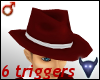 Animated red hat (m)