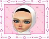 ! 2Layer of Hijab ~White