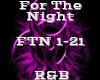 For The Night -R&B-