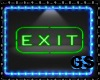 """GS"" NEON SING EXIT"