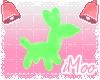 Neon Animal Balloon M  G