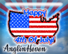 *A* 4th July Sticker
