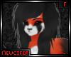 M! Red Panda Hair F 2