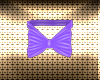 Easter Lilac Bunny Bow
