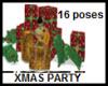 16 POSES XMAS GIFT PARTY