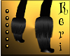 [K] Raven Furry Boots
