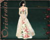 (OR) Antiqued Lace Gown