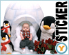 Baby With Penguins
