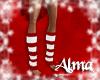 [AL] Christmas Legwarmer