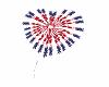 Fireworks July 4 Heart