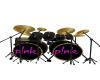 B.F P!nk Drums