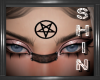 Pentagram Head Charm