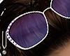 -V- Violet sunglasses H