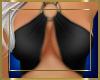 Bikini Ringed Top Black