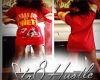 Chiefs Jersey Dress MED