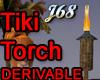 J68 Tiki Torch Animated