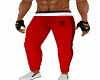 Red Athletic Pant