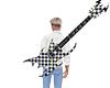 Anim Checkered Guitar