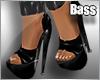 !B Caught Heels Black