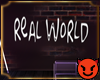 😈|🌎 RW Wall Sign