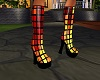graphic boots