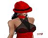 419 Merlot'd Red Fedora