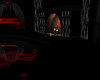 Dark romantic room