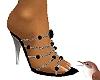 Jewelled Heels sil.Black