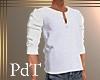 PdT White Henley M