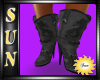 [SUN] Cowgirl Gray Boots