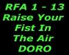 RaiseYourFist In The Air